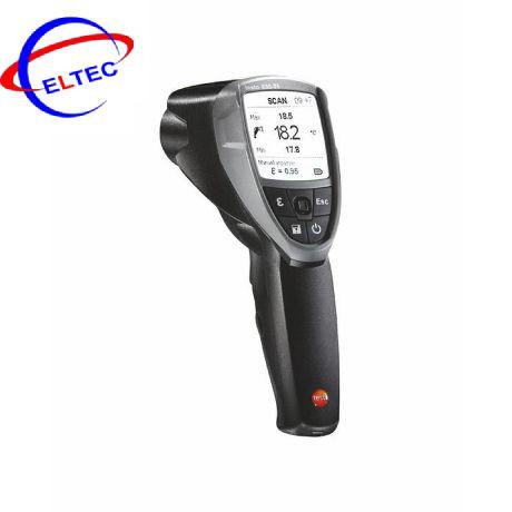 Máy đo nhiệt độ hồng ngoại Testo 835-T1 (0560 8351,-30 ~ +600 °C; 50:1)