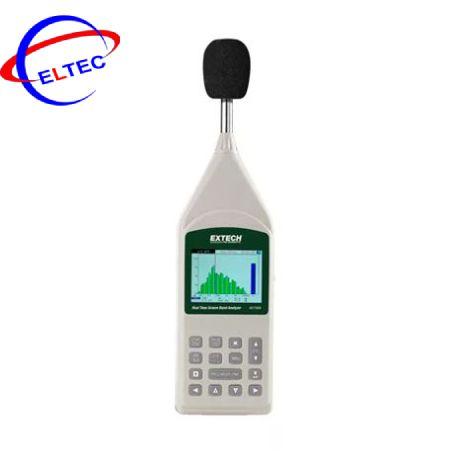 Máy phân tích độ ồn realtime Extech 407790A (1/1 Octave and 1/3 Octave)