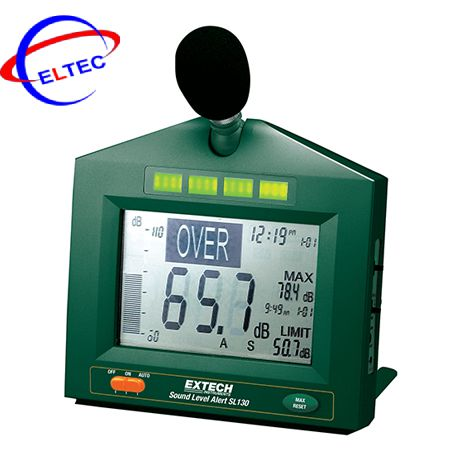 Máy đo độ ồn EXTECH SL130W (có tín hiệu ra cảnh báo 2.5 VDC)