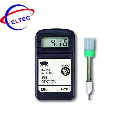 Dụng cụ đo PH PH-201, 0 ~ 14PH