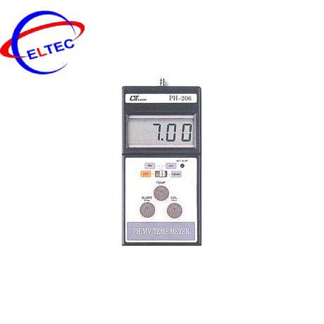 Máy đo PH và nhiệt độ PH-206, 0 to 14 pH, 0 to 100 ℃
