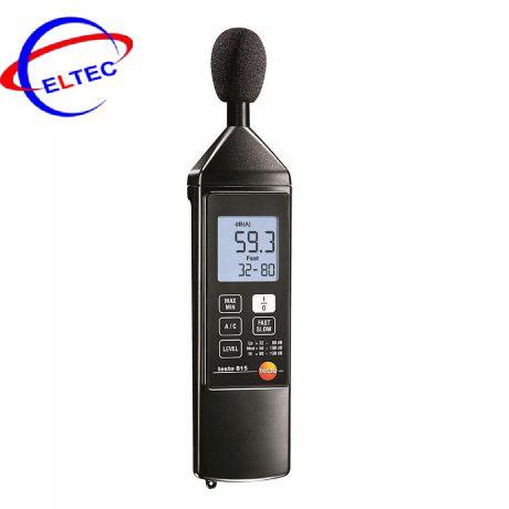 Máy đo độ ồn testo 815 (0563 8155) (+32 ~ +130 dB/ ±1.0 dB)