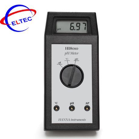 Máy đo pH cầm tay HANNA HI8010 (0.00 to 14.00 pH)