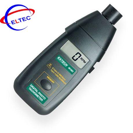 Máy đo tốc độ vòng quay không tiếp xúc Extech 461893 (5 đến 99,999rpm)
