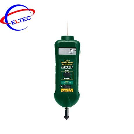 Máy đo tốc độ vòng quay kiểu tiếp xúc và lasez EXTECH 461995 (0.5 to 19,999 rpm)