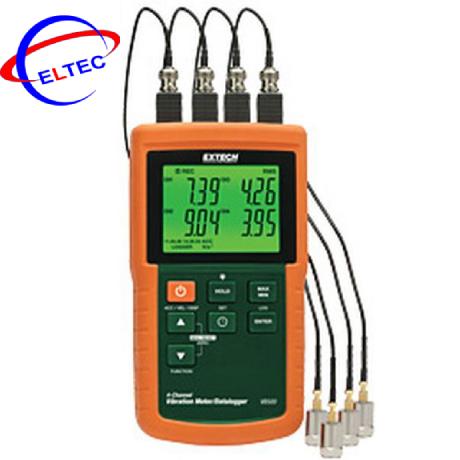 Máy đo độ rung 4 kênh Extech VB500 (có dataloger)