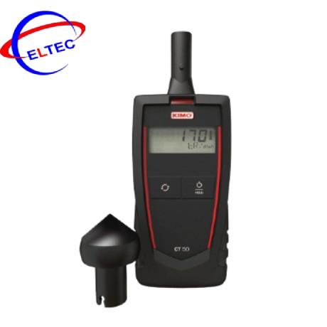 Máy đo tốc độ vòng quay Kimo CT50 (tiếp xúc, không tiếp xúc)