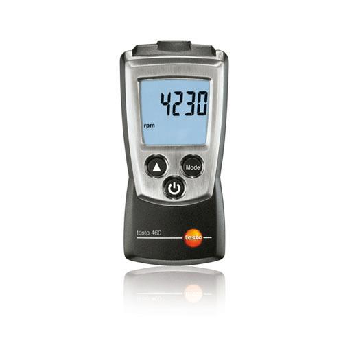 Máy đo tốc độ vòng quay Testo 460 (0560 0460, 100 ~ 29999 rpm)