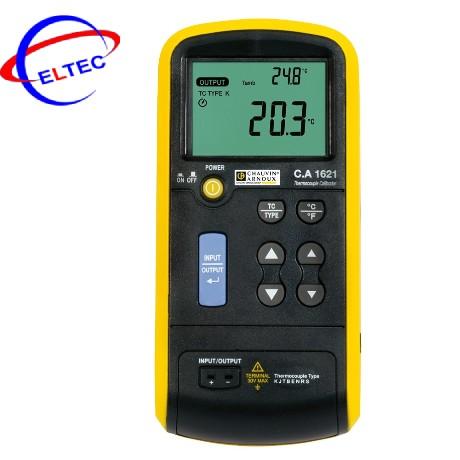 Máy hiệu chuẩn nhiệt độ TK Chauvin Arnoux C.A 1621 (P01654621)