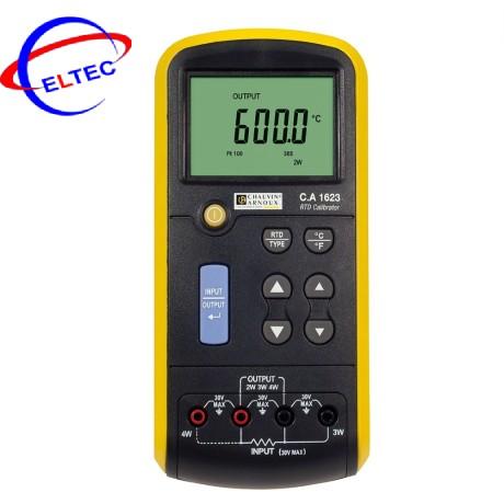 Máy hiệu chuẩn nhiệt độ cho đầu đo nhiệt điện trở Chauvin Arnoux C.A 1623 (P01654623, 7 loại đầu đo)