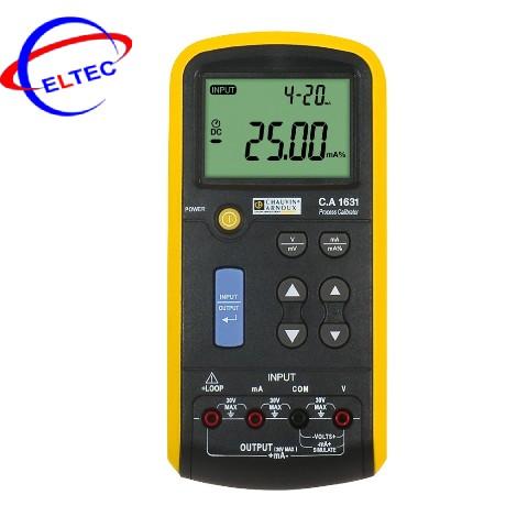 Máy hiệu chuẩn tín hiệu dòng điện/ điện áp Chauvin Arnoux C.A 1631 (P01654402)
