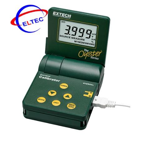 Máy hiệu chuẩn dòng điện và đo lường dòng điện Extech 412300A (0-24mA)