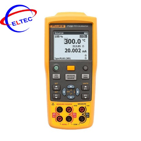 Máy hiệu chuẩn nhiệt độ Fluke 712B (type RTD)