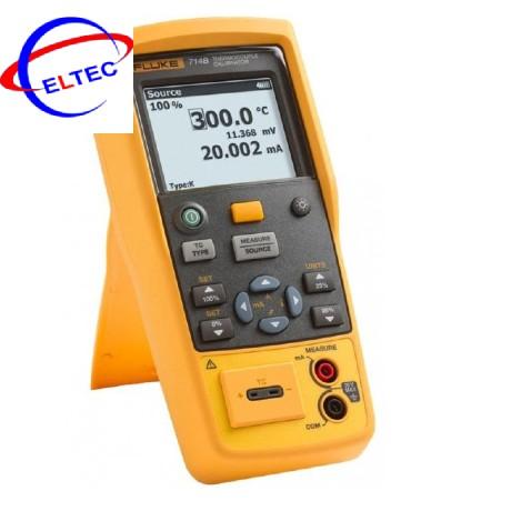Máy hiệu chuẩn nhiệt độ Fluke 714B (type Thermocouple)