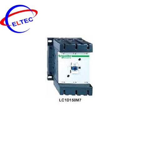 Nút bấm Schneider LC1D150M7, 150A, AC3 – 75KW/400V, 1N0+1NC