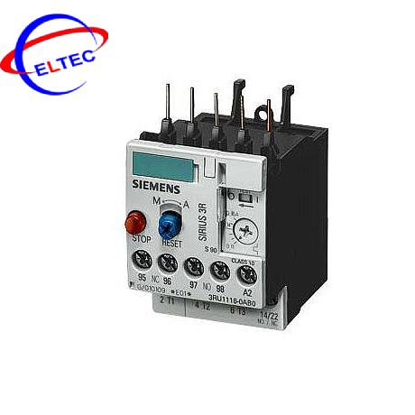 Rơle nhiệt Siemens 0.35…0.5 A, S00, 1NO+1NC, 3RU11 16-0FB0