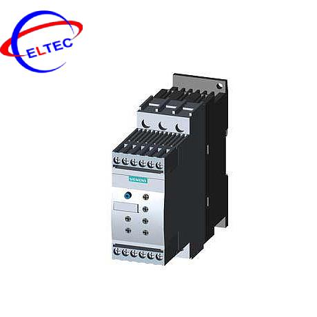 Bộ khởi động mềm Siemens 3RW4024-1BB14, AC/DC 110 – 230V, 12.5A,5.5KW, 200V ~ 480V