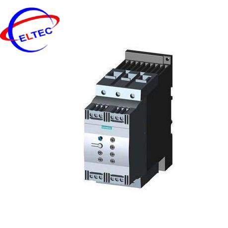 Bộ khởi động mềm Siemens 3RW4046-1BB14, AC/DC 110 – 230V, 80A,45KW, 200V ~ 480V
