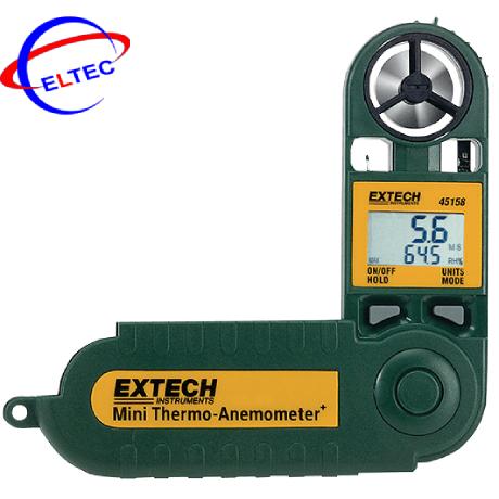 Máy đo nhiệt độ, tốc độ gió, độ ẩm Extech 45158 (28m/s)