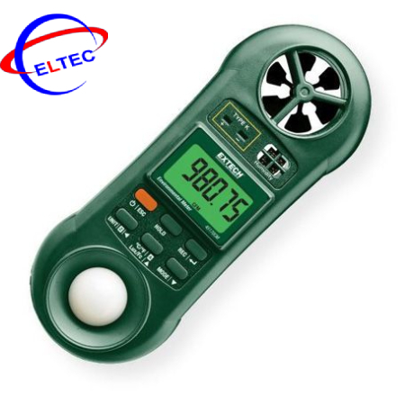 Máy đo môi trường đa năng 5 trong 1 Extech 45170CM (Nhiệt độ, độ ẩm, ánh sáng, tốc độ gió, lưu lượng)