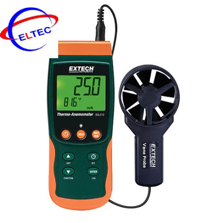 Máy đo tốc độ gió Extech SDL310 (0.4 đến 25m/s, có đo nhiệt độ, ghi dữ liệu)