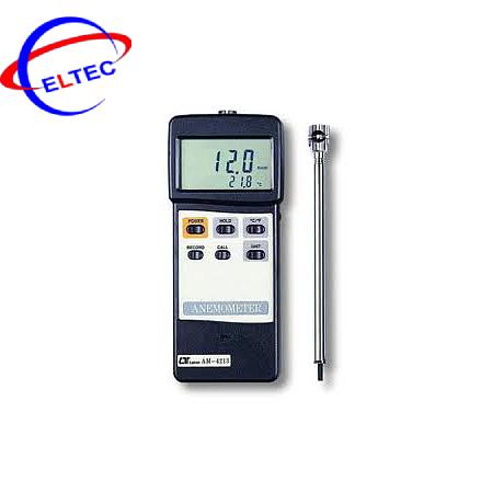 Máy đo tốc độ gió và nhiệt độ môi trường Lutron AM-4213 (12m/s & 80 ℃)