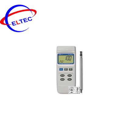 Máy đo tốc độ gió, lưu lượng gió và nhiệt độ môi trường Lutron YK-2004 AH
