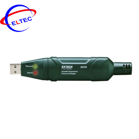 Thiết bị ghi dữ liệu độ ẩm, nhiệt độ, áp suất Extech RHT50