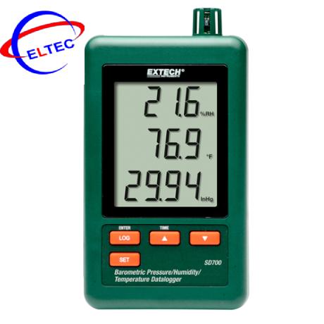 Máy đo áp suất khí quyển, nhiệt độ, độ ẩm, Datalogger Extech SD700