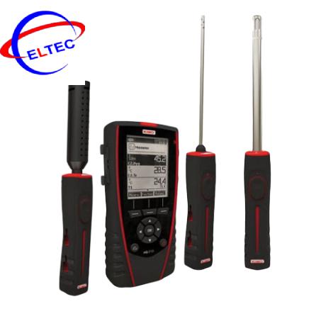 Máy đo nhiệt độ, độ ẩm, chất lượng không khí Kimo HQ210