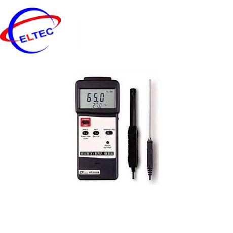 Đo độ ẩm và nhiệt độ Lutron HT-3006A (Que đo)